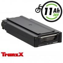 TranzX® E-Bike Akku BL03 36V 11Ah für Winora, Sachs, Hercules u.v.m. (ABB036C000301)