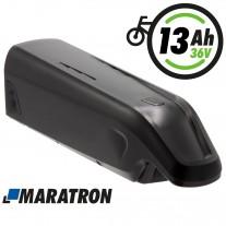 Maratron Ersatz-Akku für AEG Unterrohrakku 36V 13Ah für E-Bike Pedelecs von Prophete, Rex, u.v.m. (Modelle: 487 / 488)