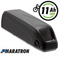 Maratron E-Bike Unterrohrakku 36V 11Ah Set mit Halterung und Anschlusskabel