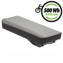 "BOSCH® Gepäckträgerakku ""Active Line"" 500Wh platin (0.275.007.531)"