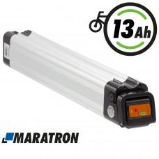 Maratron Akku XH370-10J (Lange Bauform)  E-Bike Pedelec 37V 13Ah für Prophete, Rex, Rabeneick