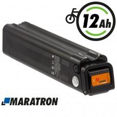 Maratron Akku 24V 12Ah 288Wh  SilverFish schwarz für E-Bike Pedelec Aldi Prophete MiFa Trio Samsung Zündapp u.v.m.