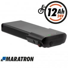 Maratron Ersatzakku für Ansmann 24V 11,6Ah für E-Bikes Pedelecs von MiFa, Cyco, McKenzie, Curtis