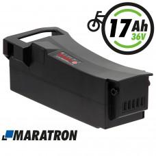 Maratron Ersatz-Akku 36V 17,5Ah (630Wh) für Impulse E-Bikes von DerbyCycle, Raleigh, Kalkhoff