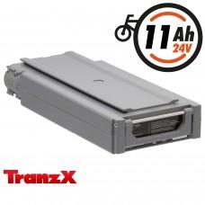 TranzX® E-Bike Akku BL03 24V 11Ah für Winora, Sachs, Hercules Rixe  u.v.m. (ABB034C000313)