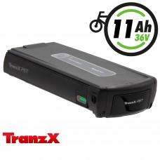 TranzX® E-Bike Akku BL07 36V 11Ah für Winora, Sachs, Hercules u.v.m. (ABB076C000462)