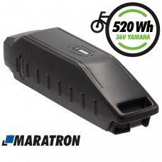 MARATRON® Ersatz-Akku für Yamaha Rahmenakku 520Wh 36V 14,5Ah für E-Bikes Pedelecs von Haibike, Winora, Batavus u.v.m.