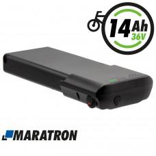 Maratron Ersatz-Akku für Ansmann 36V 14Ah (518Wh) für E-Bikes Pedelecs von MiFa, Kalkhoff, Cyco, BBF, Bergsieger, Pfau-Tec, Böttcher, AVE u.v.m.