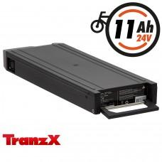 TranzX® E-Bike Akku BL01 24V 11Ah - für Winora, Sachs, Hercules u.v.m. (ABB010C000336)