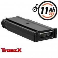 TranzX® E-Bike Akku BL02 24V 11Ah für Winora, Sachs, Hercules u.v.m. (ABB024C000329)