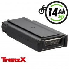 TranzX® E-Bike Akku BL03 36V 14Ah für Winora, Sachs, Hercules u.v.m. (ABB036C000993)