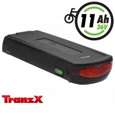 TranzX® E-Bike Akku BL15 36V 11Ah für Winora Sachs Hercules u.v.m. (ABB156C002105)