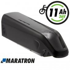 Maratron Ersatz-Akku für AEG Unterrohrakku 36V 11Ah für E-Bike Pedelecs von Prophete, Rex, u.v.m. (Modelle 487 / 488)