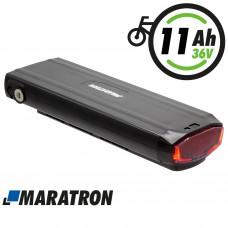 Maratron Ersatz-Akku 36V 11Ah für STELLA Gepäckträgerakku JCEB360 - inkl. Ladegerät