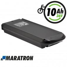 Maratron Ersatz-Akku für PROPHETE / TRIO Gepäckträger 36V 10Ah (Modell: 459)