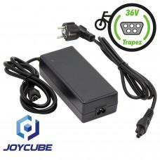 Ladegerät für Phylion Akkus Typ Joycube JCEB / 36V 2A mit Trapezstecker
