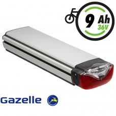 GAZELLE Innergy Silver Gepäckträgerakku 36V 8,8Ah (313,9Wh)